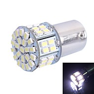 GC® 1156 / BA15S 5W 300LM 50×3020 SMD White LED for Car Turn Steering / Backup / Brake Lamp (DC 12V)