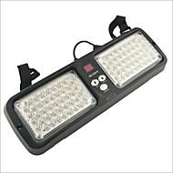 carking ™ autó jármű 86-LED fényjelzővel figyelmeztető sürgősségi villogó fény - piros / kék