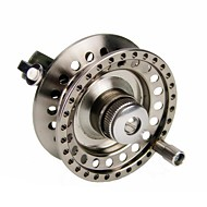 Fishing Reel Fly Reels 5.3:1 2 Ball Bearings Exchangable / Right-handed / Left-handed Fly Fishing / Ice Fishing / Freshwater Fishing