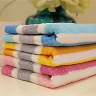 sensleep® 3pcs Handtuchpaket, mehrfarbigen Streifen aus 100% Baumwolle Handtuch