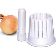 Brand New Hot Selling Delicate Plastic Kitchen Onion Blossom Maker Onion Slicer Cutter