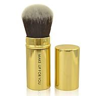 Make-up For You®1pcs Blush Brush Golden Blush Brush Powder Brush Multifunction Retractable Makeup Tools kit  Cosmetic Brushes Tools