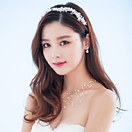 Women's Rhinestone / Crystal / Alloy / Imitation Pearl Headpiece-Wedding / Special Occasion / Outdoor Headbands / Wreaths