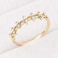 ol dulces flores frescas anillo personalizado (más colores)