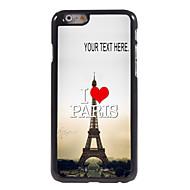 """εξατομικευμένη περίπτωση υπέροχη καρδιά μεταλλικό σχεδιασμό θήκη για το iPhone 6 (4,7 """")"""