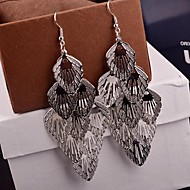 Personality Exclusive Multi Level Alloy Drop Earrings(Golden,Silver)(1 Pair)