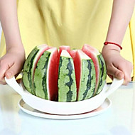 acciaio bianco comoda taglierina cocomero cucina strumento frutta slicer20 * 20cm