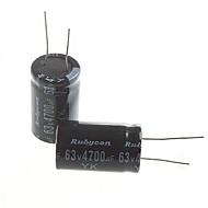 elektrolytických kondenzátorů 4700uF 63V (2ks)
