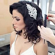 strass artesanal de cristal headpiece bridal cabelo casamento acessórios / headbands ocasião especial