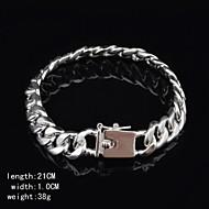Fashion Sterling Silver Men's Bracelet