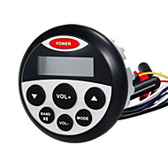 Waterproof Marine Stereo Receiver with FM/ AM USB & AUX Input for Motorcycle Yacht Sauna Room