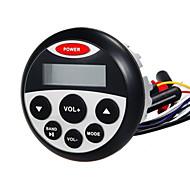 FM / AM의 USB & 오토바이 요트 사우나 룸을위한 AUX 입력 방수 해양 스테레오 수신기