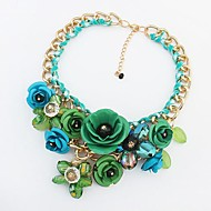 Women's Alloy Necklace Party Acrylic