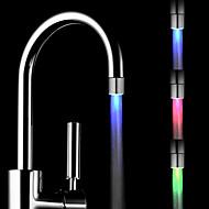 farverige messing køkkenvask førte vandhane tap dyse