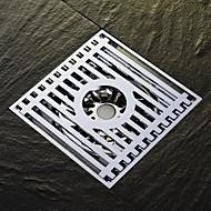 HPB®,ניקוז כרום אחר 10*10*4cm(3.9*3.9*1.6 inch) פליז מודרני