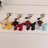 öronhund nyckelring (mer färg)