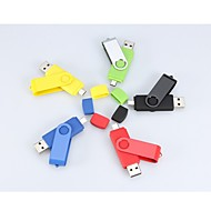 8gb rotativa usb micro usb pen drive flash de OTG