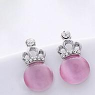 Stud Earrings Men's/Women's Alloy Earring Opal/Rhinestone