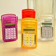 calculadora de mini clip de archivo multifunción única (color al azar)