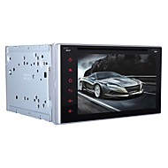 Universal Car DVD Player  Android4.4 2 Din 6.2 inch 800 x 480Built-in Bluetooth/GPS/RDS/3D Interface/WiFi/Subwoofer