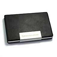 Personlig gave-Visitkort Holdere-Aluminium PU-læder