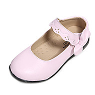Girls' Shoes Round Toe Comfort Flat Heel Leather Flats Shoes More Colors available