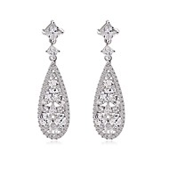 Damen Ohrring Kubikzirkonia Kubikzirkonia Drop Earrings
