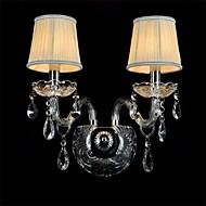 lámpara de pared de cristal transparente