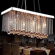 MAX40W Chandelier ,  Modern/Contemporary / Traditional/Classic Chrome Feature for Crystal MetalLiving Room / Bedroom / Dining Room /