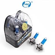 hm® h7 plasma lampada allo xeno 12v 100w fari lampadine bianche (una coppia)