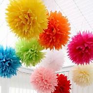 Wedding Décor 18 inch(45cm) Paper Pom Tissue Flower - Set of 4 (More Colors)