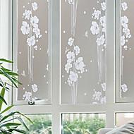 חלונות זכוכית חלבית של חלון מדבקת מדבקת נייר מדבקות חלון אטום נייר סרט פלסטיק נטול חשמל סטטי