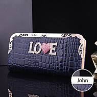 Personalizované dárky a dámské kožené faux metal kabelka (do 10 znaků)