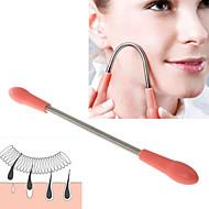 1szt twarzy usuwania usuwania włosów ciało twarz włosy wiosna depilator epistick dla kobiet (19cm)