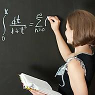 Blackboard Wall Stickers Wall Decals, Cuttable PVC  DIY Teaching  with Chalks,45x200cm