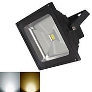 jiawen® 블랙 IP65 방수 20w 1800lm 3000-3200k / 6000-6500k 따뜻한 화이트 라이트 / 하얀 빛 홍수 램프를 주도 (직류 12V)