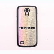 gepersonaliseerde telefoon geval - drie-kleur druppel water ontwerp metalen behuizing voor Samsung Galaxy S4