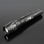 Lampes Torches LED (Faisceau Ajustable / Etanche / Rechargeable / Zoomable) LED 5 Mode 800-1000 Lumens Autres 18650 -