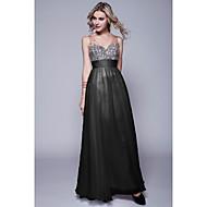 Formal Evening Dress - Black / Ruby / Fuchsia / Grape / Pool / Daffodil / Candy Pink / Lime Green / Champagne Petite Sheath/Column