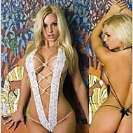 sexy teddies rendas amarrar coisa corda branca lingerie sexy