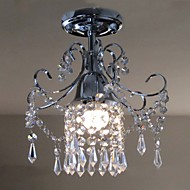 Contemporary Contracted 1 Light Crystal Ceiling Lamp  Porch Corridor Acrylic Bedroom  Parlor
