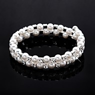 Child's/Women's Fashion Bracelet Crystal/Imitation Pearl/Cubic Zirconia