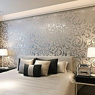 Contemporary 3d Wallpaper Art Deco Wall Covering Non-woven Paper Wall Art