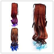 1pcs mote vakker jente høy kvalitet hår hestehale 3 farger valgfri