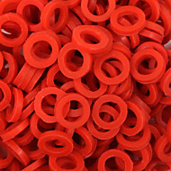 ITATOO™ 100pcs Red Rubber Tattoo O-ring for Tattoo Machines Parts P106018A