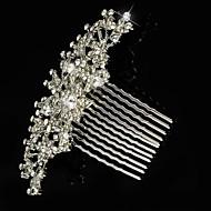 Sterling Silver/Licht Metaal Vrouwen/Bloemenmeisje Helm Bruiloft/Speciale gelegenheden Haarkammen/Bloemen Bruiloft/Speciale gelegenheden