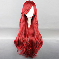 Disney Cartoon Characters Wine Red Wig