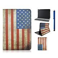 Nationalflag Eple iPad Air 2 - ( PU / Lær , Diverse Farger )