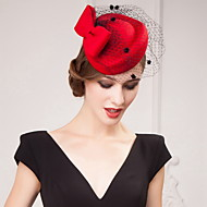 Women's Tulle/Satin Headpiece - Wedding/Special Occasion/Casual/Outdoor Hats