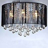 Luxury Black Drop Ceiling Crystal  Chandelier